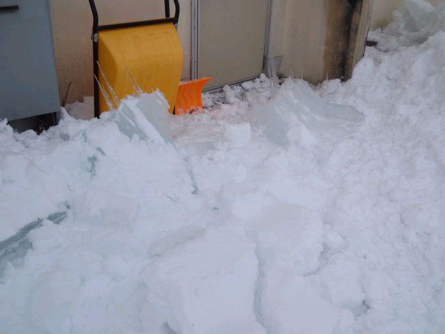 氷雪と闘う!