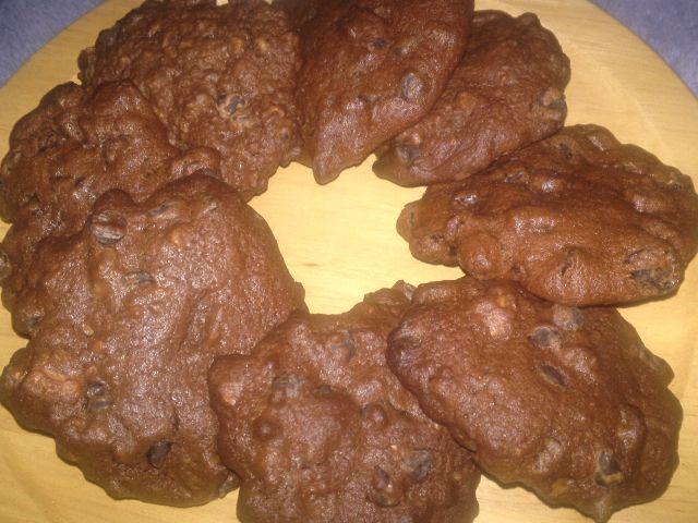 チョコケーキとチョコクッキー