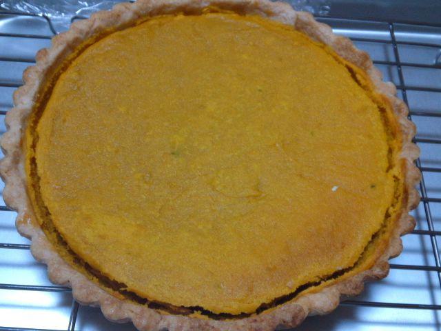 かぼちゃパイとクリームパン